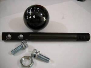 """5"""" Short Shifter Stick w/ BLACK shift knob for 2004-2006 GTO & Holden Commodore"""