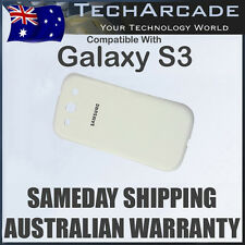 Samsung Galaxy S3 i9300 i9305 Back Rear Housing Battery Cover Case White OEM New