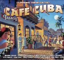 CAFE CUBA - 50 ORIGINAL CUBAN CLASSICS (NEW SEALED 2CD)