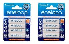 8x Panasonic Eneloop ni-mh batería 1900 mah AA BK -3 mcce/4be F. relámpago dispositivos, Flash