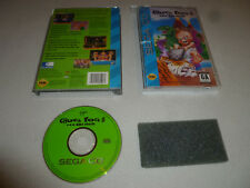 BOXED SEGA CD VIDEO GAME CHUCK ROCK II SON OF COMPLETE W CASE & MANUAL
