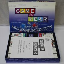 Game Of The Year Board Game Including the Millennium Edition - Complete