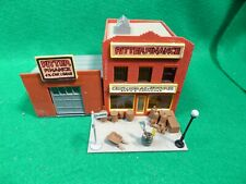 Tyco Kit HO Scale General Store &  Ritter Finance Building