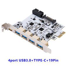 USB 3.0 PCI-E Type C Expansion Card PCI Express PCI-E to USB 3.1 Card Adapter