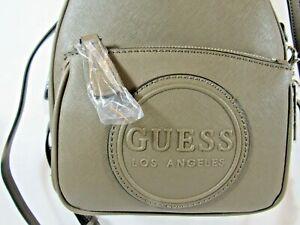 """NWT GUESS """"Evans"""" Backpack hand/shoulder bag Natural & Wallet FREE USA shipping"""