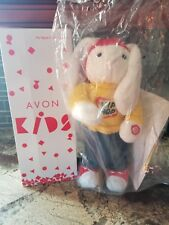 "Avon Kids 2002 Hip Hop Harry Bunny Rabbit Animated Singing Hopping 15"" Toy Nib"