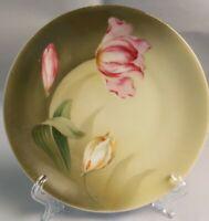"""Vintage RS Germany Flower Floral Plate  Porcelain Size 6 1/2"""""""