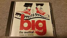 BIG: The Musical (Original Broadway Cast Recording) CD PROMO Tom Hanks RARE!!!!!