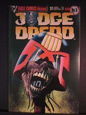 Judge Dredd #9 July 1984, Eagle comics, VF nice copy