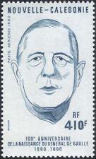 Nouvelle-Calédonie 1990 Charles de Gaulle/Gens/MILITAIRE/WWII/politique 1 V (n45358)