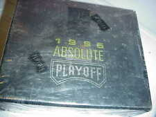 1995 PLAYOFF ABSOLUTE FOOTBALL FACTORY SEALED BOX* 24 PACKS*INSERTS