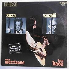 """33T SACCO E VANZETTI Film Vinyl LP 12"""" Joan BAEZ Ennio MORRICONE - RCA 443013"""