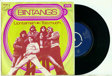 "the BINTANGS - Liontamer / Too Much (1970 DUTCH Blues Rock VINYL SINGLE 7"")"