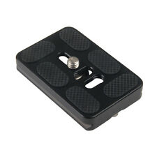 PU-60 Quick Release Plate For Digital Cameras Tripod Ballhead Lens Mount Adapter