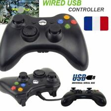 Filaire USB Gamepad Manette Contrôleur Pour MICROSOFT Xbox 360 Slim PC Windows 7