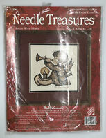 Needle Treasures M J Hummel Angel with Horn Counted Cross Stitch 02954 New USA