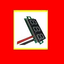 Mini Red Rot LED Panel Voltage Meter 3-Digital Adjustment Voltmeter