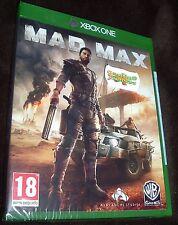 MAD MAX XBOX ONE XB1 NEW SEALED FREE UK p&p UK SELLER