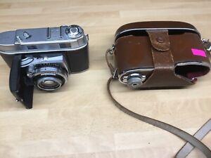 Vintage Kodak Retina11c 35mm Film Camera with Leather case