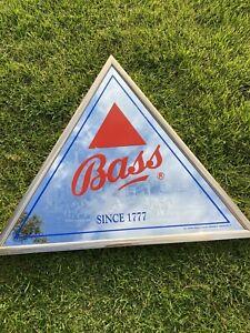 pub mirror - advertising Vintage Triangle Bass Mirror