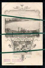 CARTOLINA LIBERTY NAPOLI VIA CARACCIOLO_FP VIAGGIATA 1901