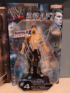 WWE DRAFT SMACKDOWN #4 HULK HOGAN autograph 2002 LIMITED EDITION OF 22,500
