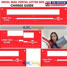 Royal Mail PPI Post Office Postal Letter Size Guide Price Postage Ruler
