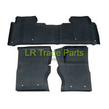 LAND ROVER DISCOVERY 5 NEW FRONT & REAR RUBBER FLOOR MATS MAT SET (2017+) RHD