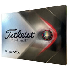 2021 Titleist Pro V1x White Golf Balls 1 Dozen