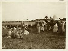 Photo Argentique Lehnert et Landrock Afrique du Nord Vers 1920