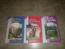 Abeka Reading Program Books Grade 4 Liberty Tree Flags Unfurled Trails Explore