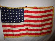 flag419  WW2 US 48 Star Flag Regimental Issue printed