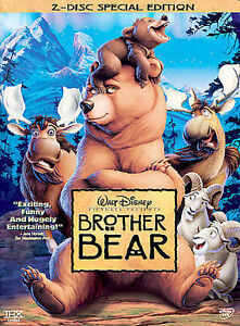 Brother Bear NEW Disney Film (DVD, 2004, 2-Disc Set, Special Edition)