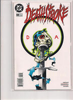 Deathstroke the Terminator 60 First Printing original 1996 DC Comic Final Issue