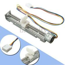 DC 4V-9V 2 Phases 4 Wires 18 Degrees 500mA Drive Stepper Motor Screw +Nut Slider