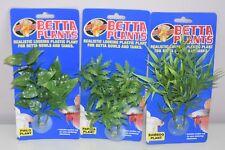 Aquarium Betta Petit Plastique Plantes Philo Papaye Bambou Variété Paquet 2