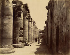 Photo Sebah Albuminé Egypte Vers 1870/80