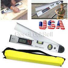 0~225° LCD Digital Inclinometer Protractor Spirit Level Angle Finder Gauge Meter