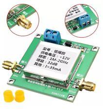 1-2000 MHz 2Ghz 32dB 50ohm DC LNA Broadband RF faible bruit Amplificateur HF UHF VHF