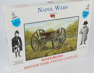 A CALL TO ARMS #23 NAPOLEONIC BRITISH NINE POUND CANNON (No crew). 1/32 Scale