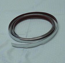 """1"""" 25MMX10FT Chrome Trim  Exterior/Interior Door/Body Side Accent Molding Roll"""