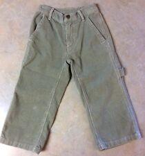 Mulberribush Tumbleweed Boys Khaki Corduroy Carpenter Pants - Excellent