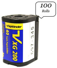 100 Rolls OF Voigtlander Vxg Aps 200 40 Films ISO 200 Cold Stored 100% Guarantee