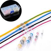 50/100Pcs Heat Shrink Solder Sleeve Butt Splice Wire Connector Waterproof--