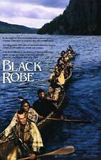 "BLACK ROBE - 27""x41"" Original Movie Poster One Sheet 1991 Lothaire Bluteau Rare"
