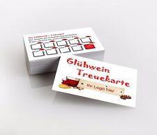 1.000 Bonuskarten, Glühwein Weihnachten Premiumqualität, direkt hier gestalten