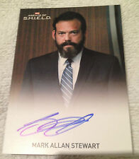 Agents of Shield Season 2 Autograph Card Mark Allan Stewart as Agent Oliver