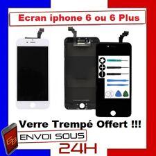 VITRE TACTILE IPHONE 6 / 6 PLUS  NOIR OU BLANC + ECRAN LCD RETINA  + Outils