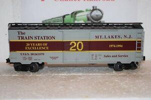 O Scale Trains Weaver The Train Station Box Car 2012631979