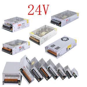 AC 230V - DC 24V  LED Driver Power Supply Transformer PSU - IP20 48-480 W Driver